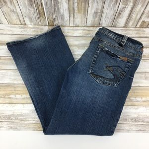 Silver jeans Tuesday 36/31 blue jeans S pockets